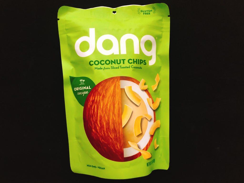 ダングのココナッツチップスオリジナル味