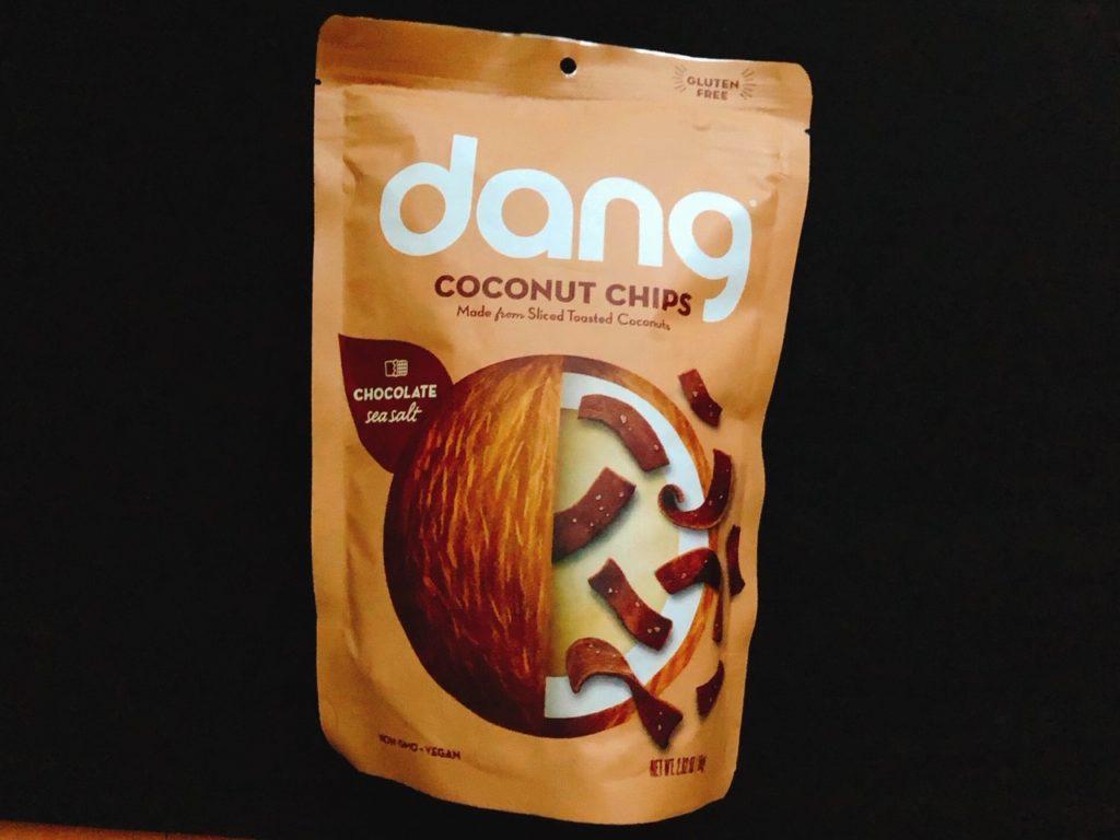 ダングのココナッツチップスチョコレートの味