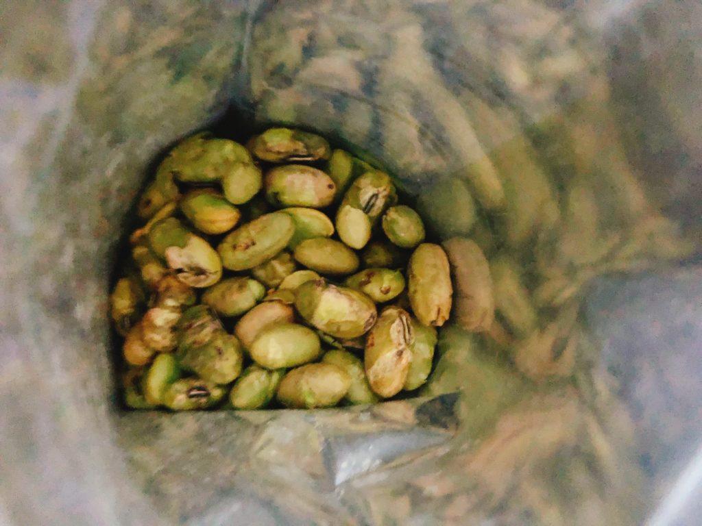 シーポイントファームズの枝豆中身