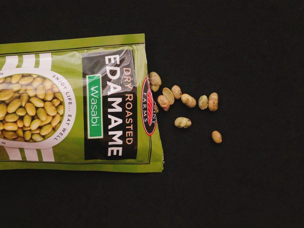 シーポイントファームズのワサビ味の枝豆中身