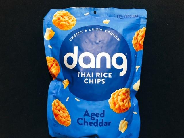 【雷おこし!?】iHerbアイハーブで買えるdangのライスチップス~チェダーチーズ味~