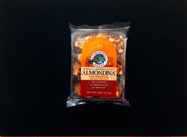 アーモンディーナのオリジナル味の袋表