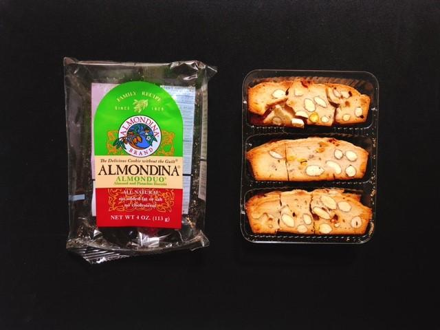 アーモンディーナのピスタチオ味のビスケット