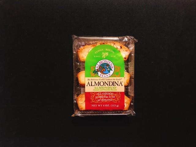 アーモンディーナのピスタチオ味の袋表