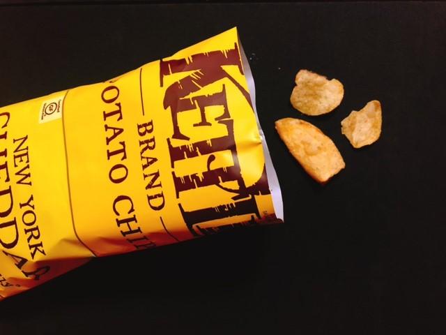 ケトルのチェダーチーズ味の中身
