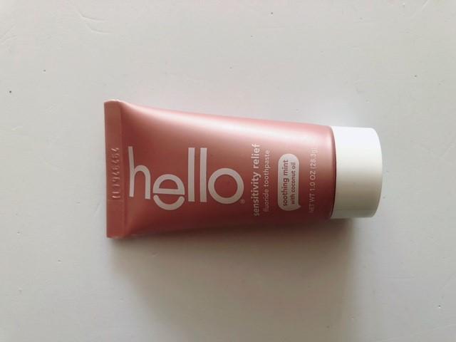 Helloの知覚過敏用歯磨き粉