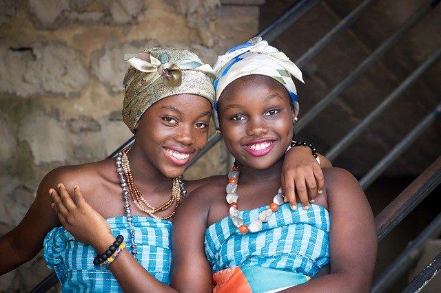 アフリカの女性