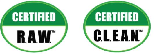 クリーンフード認定プロジェクトのマーク