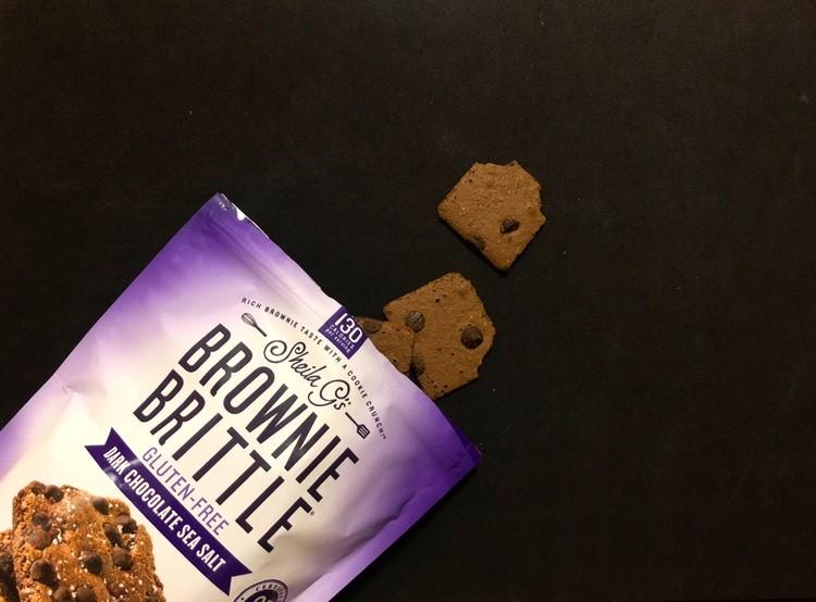 ブラウニーブリトルのクッキーが2枚