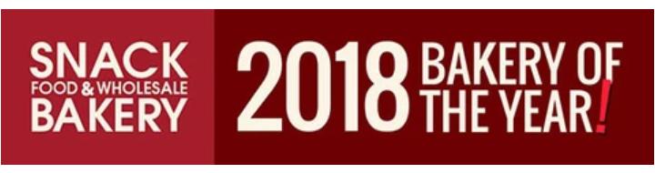 2018年のベーカリーオブザイヤーロゴ