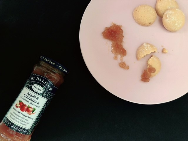 サンダルフォーのアップルシナモンとクッキー