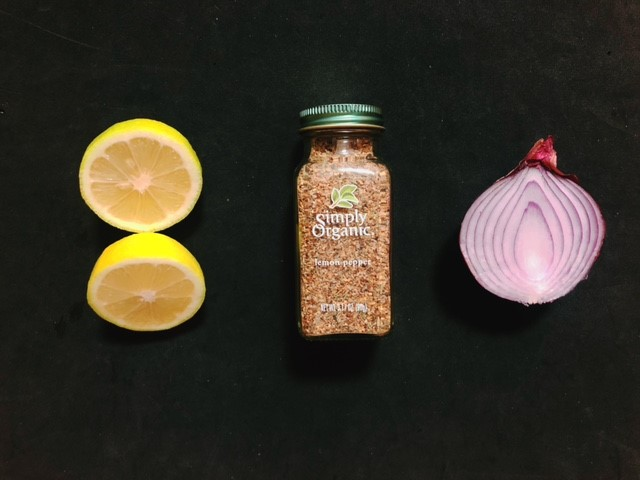 レモンペッパーでタブーレを作ってみる